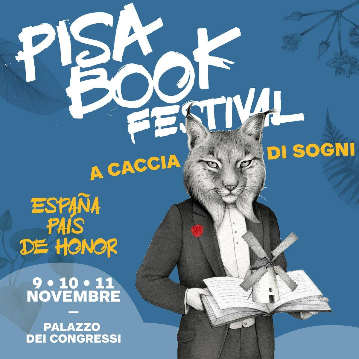Locandina Pisa Book Festival